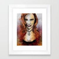 Oh My Jessica - True Blood Framed Art Print