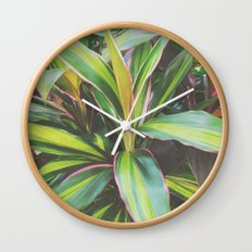Foliage II Wall Clock
