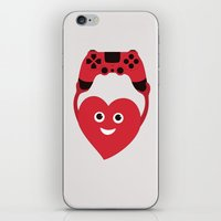 Gaming Heart iPhone & iPod Skin