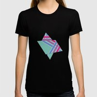 Step In Line Womens Fitted Tee Black SMALL
