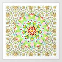 Mandala Mandala II Art Print