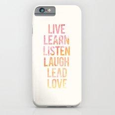 Life Words iPhone 6 Slim Case