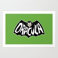 DRACULA! Art Print