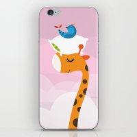 Orange Sleep iPhone & iPod Skin
