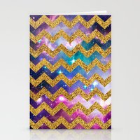 GLITTER SPACE 9 - For Ip… Stationery Cards