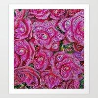 :: Pink Day :: Art Print