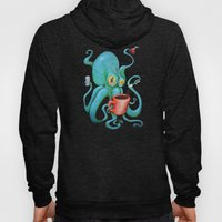 Michelle's Coffee Drinking Octopus Hoody