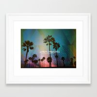 Warm Thoughts Framed Art Print