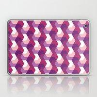 Purple Hexagons Laptop & iPad Skin