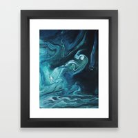 Gravity II Framed Art Print