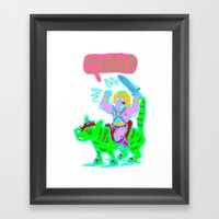 Masters Of The Universe … Framed Art Print