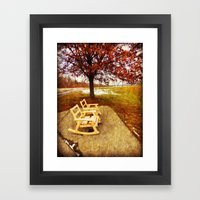 Come Sit, Stay Awhile... Framed Art Print