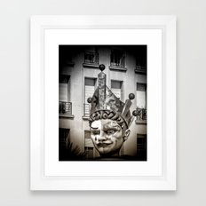 Harlequin of Nice Framed Art Print