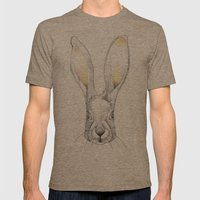 Jack Rabbit Mens Fitted Tee Tri-Coffee SMALL