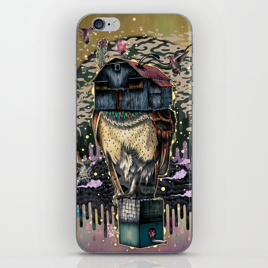 The Barn Owl Fortune Teller iPhone & iPod Skin
