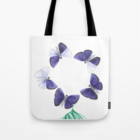Papilio angelus (circle version) Tote Bag