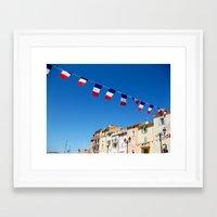 St. Tropez, Côte d'Azur French Riviera Framed Art Print
