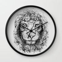 King Of Nature Wall Clock