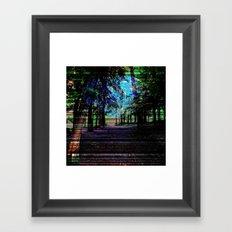 METEORYTHE Framed Art Print