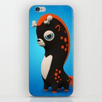 Dark Wippo iPhone & iPod Skin