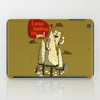 The Woods Monster. iPad Case