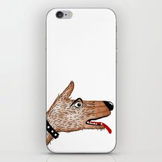 You Ain't Nothin' But A Hand Dog iPhone & iPod Skin