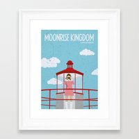 Moonrise Kingdom-2 Framed Art Print