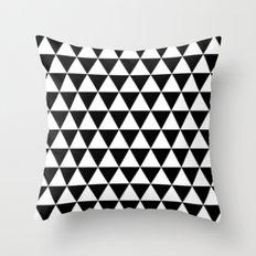 Infinite BW Throw Pillow