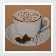 Coffee Delight Art Print