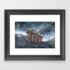 Landunter Framed Art Print