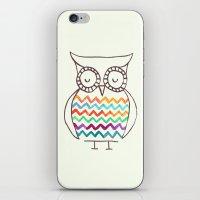 Chevron Owl iPhone & iPod Skin