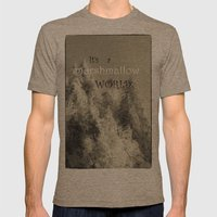 It's A Marshmallow World Mens Fitted Tee Tri-Coffee SMALL