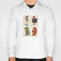 Hoody featuring Costumes - Animalados by Juan Weiss