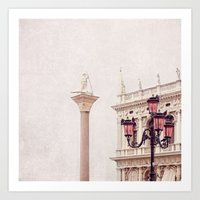 MAGICAL VENICE | Palazzo… Art Print