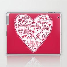 Te Amo Laptop & iPad Skin