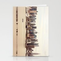 nyc Stationery Cards featuring NYC by Enkel Dika