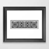 Garden of Illusion 2 Framed Art Print