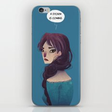 A Storm is Coming iPhone & iPod Skin
