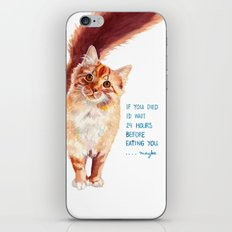 If You Died iPhone & iPod Skin