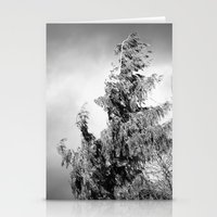 The Tree in the Wind Stationery Cards