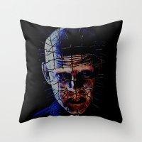 PINHEAD! Throw Pillow