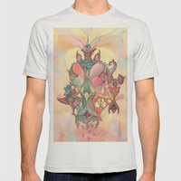 The Fountain Of Original… Mens Fitted Tee Silver SMALL