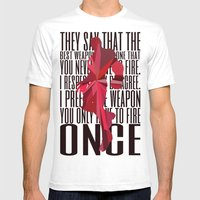 Iron Man - Quote Mens Fitted Tee White SMALL