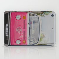 Hot Pink Lady iPad Case