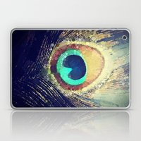 Peacock Feather  Laptop & iPad Skin