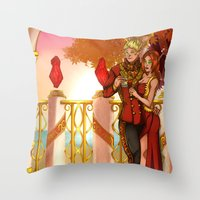 Together in the Sun Throw Pillow