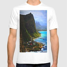 Hanauma Bay Mens Fitted Tee White SMALL