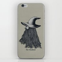 Grey Wizard iPhone & iPod Skin