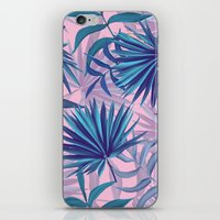 pink tropic  iPhone & iPod Skin