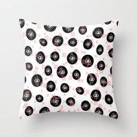 E.Y.E.S. NN MM Throw Pillow